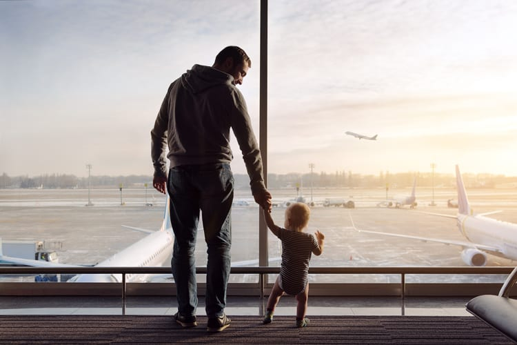 stress-free flying with babies and toddlers