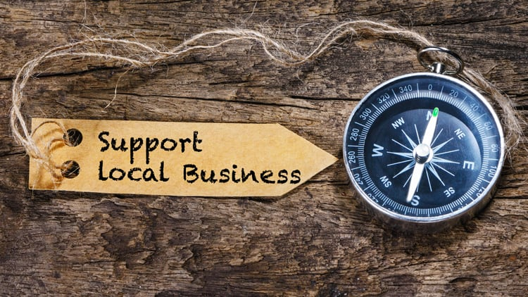 support small and local business