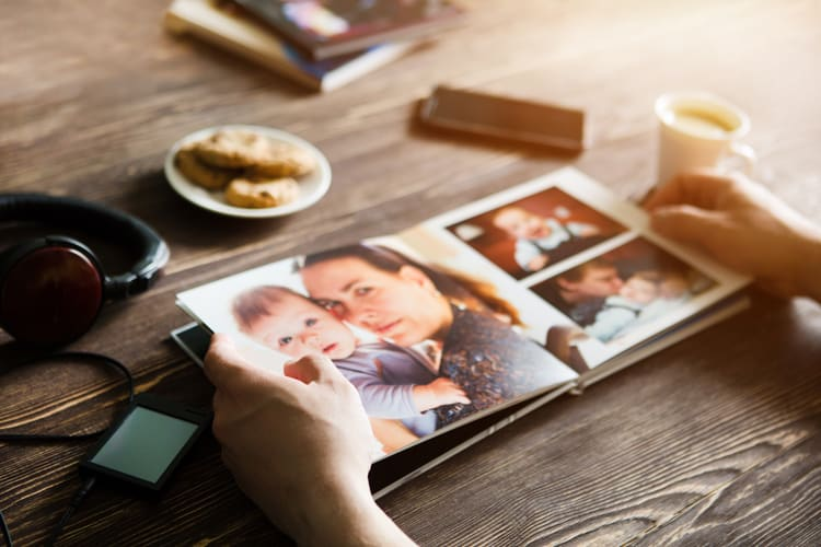 preserve family travel memories with a photo book