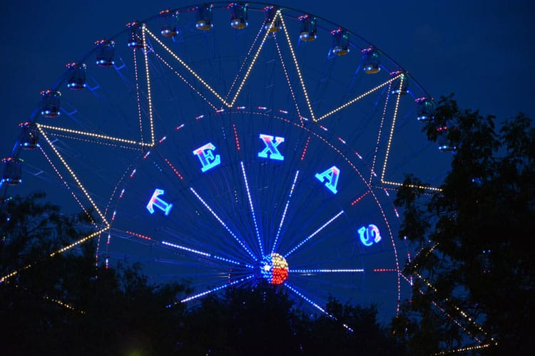 ferris wheel in dallas texas