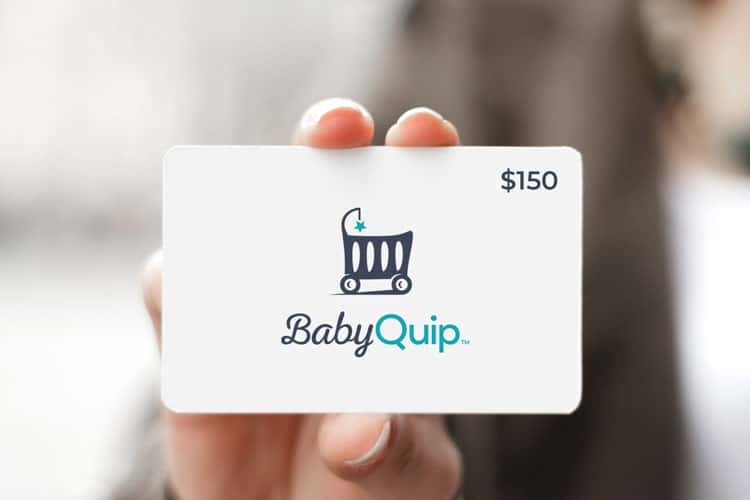 gift for traveling mom - babyquip gift card