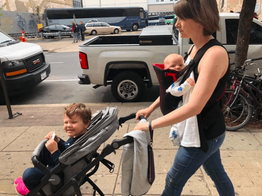 traveling with a baby