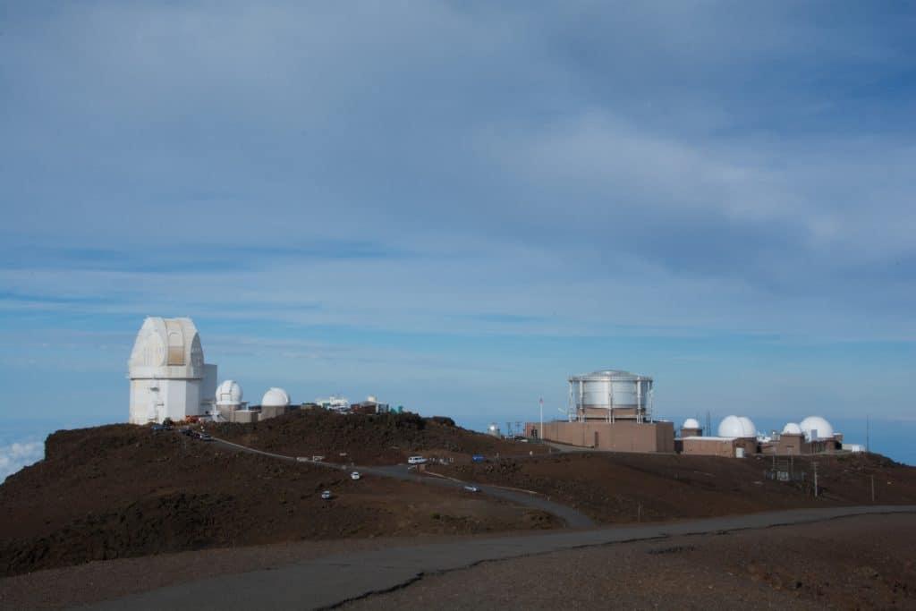 Haleakalā National Park observation deck