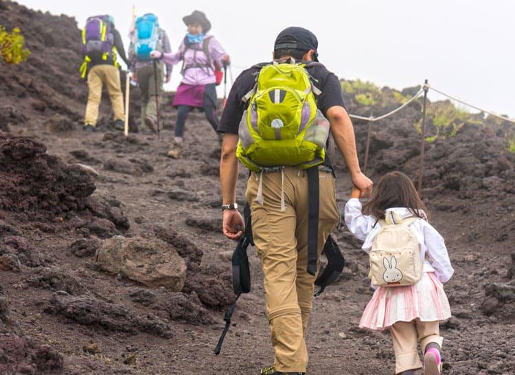 hiking at Haleakalā National Park