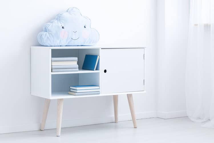 child's bookshelf