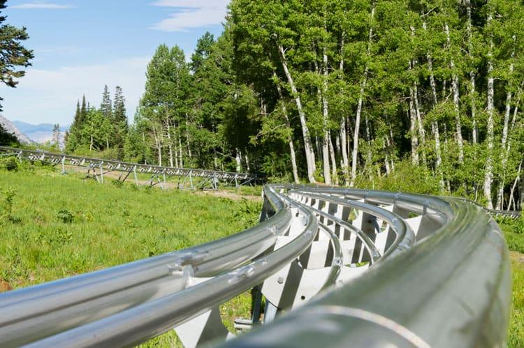 mountain coaster - alpine slide