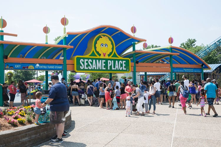 sesame place in pennsylvania